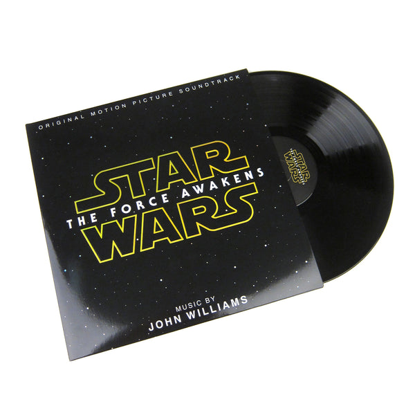 John Williams: Star Wars - The Force Awakens Soundtrack (Holographic) Vinyl 2LP