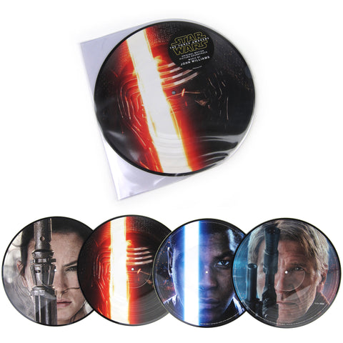 John Williams: Star Wars - The Force Awakens Soundtrack (Pic Disc) Vinyl 2LP