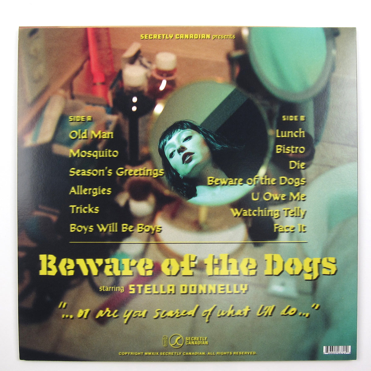 Stella Donnelly: Beware Of The Dogs (Colored Vinyl) Vinyl LP