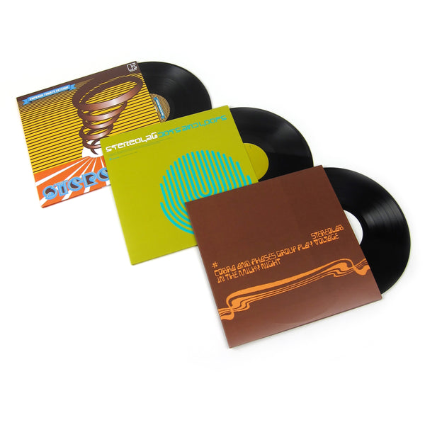 Stereolab: Vinyl LP Album Pack (Cobra and Phases, Dots And Loops, Emperor Tomato Ketchup)