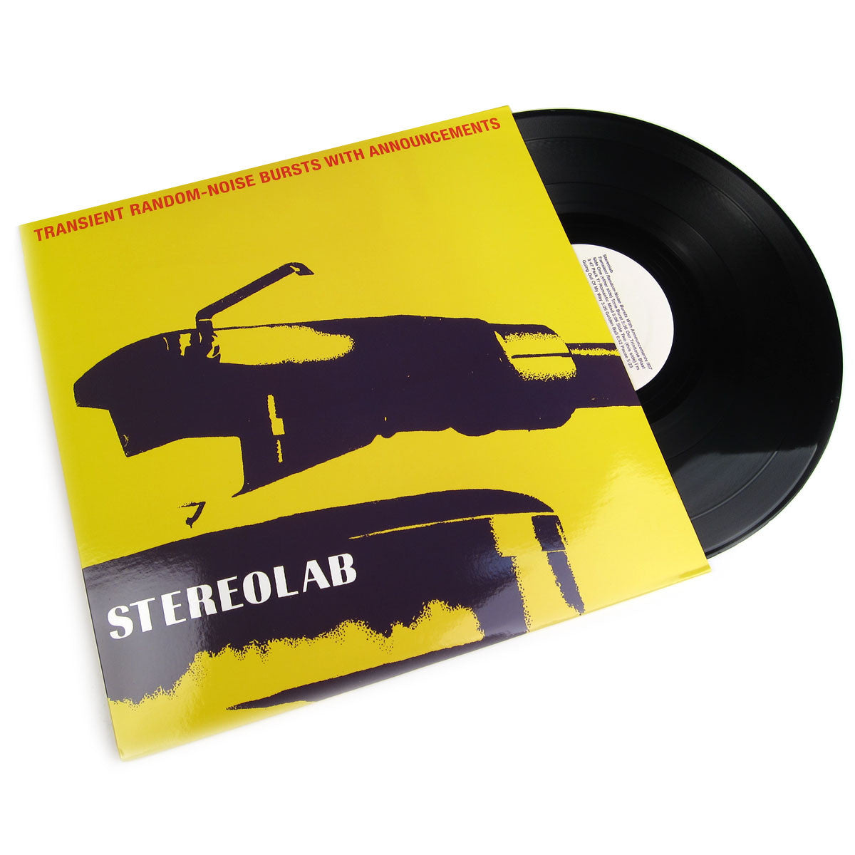 Stereolab: Transient Random-Noise Bursts with Announcement 2LP