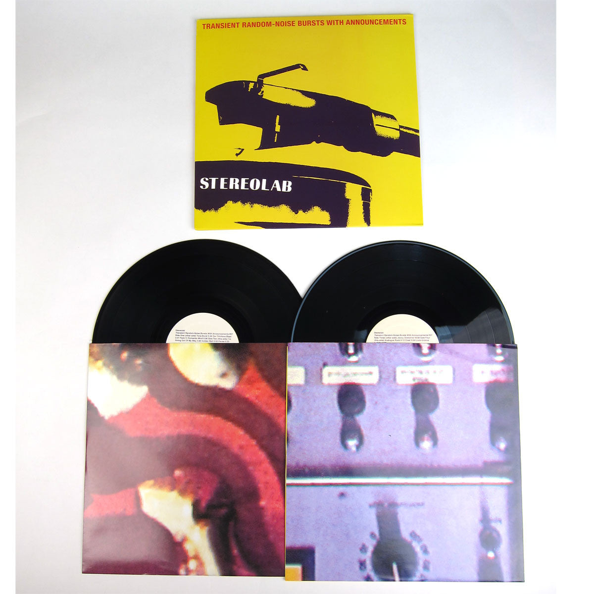 Stereolab: Transient Random-Noise Bursts with Announcement 2LP detail