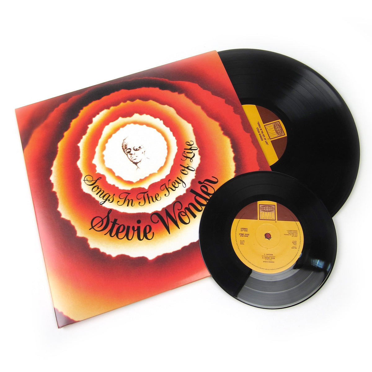 Stevie Wonder: Songs In The Key Of Life (180g) Vinyl 2LP+7""