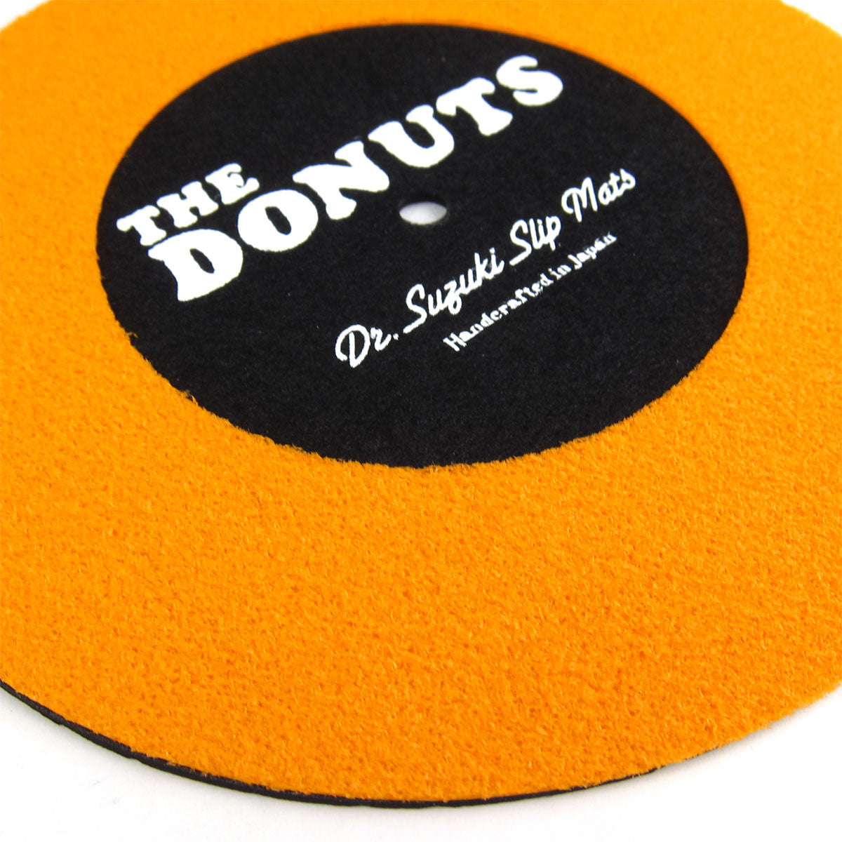 "Stokyo: Dr. Suzuki The Donuts 7"" Slipmats - Orange / Black (Limited Edition)"