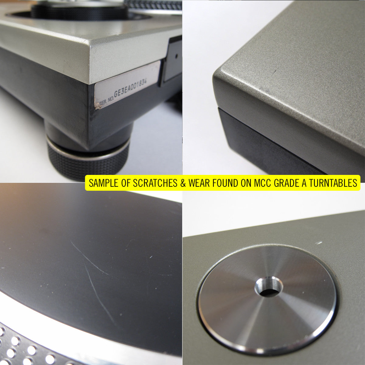 Technics: SL-1200MK5 Turntable - Stokyo MCC Refurbished