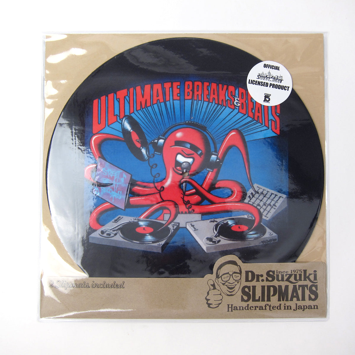 "Stokyo: Dr. Suzuki x Street Beat Records (Ultimate Breaks & Beats) 12"" Slipmats"