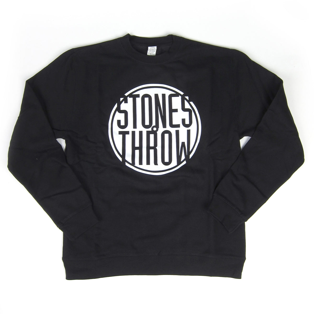 Stones Throw: Classic Logo Sweatshirt - Black