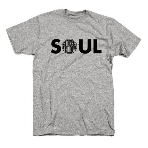 Stones Throw: Soul Shirt - Grey