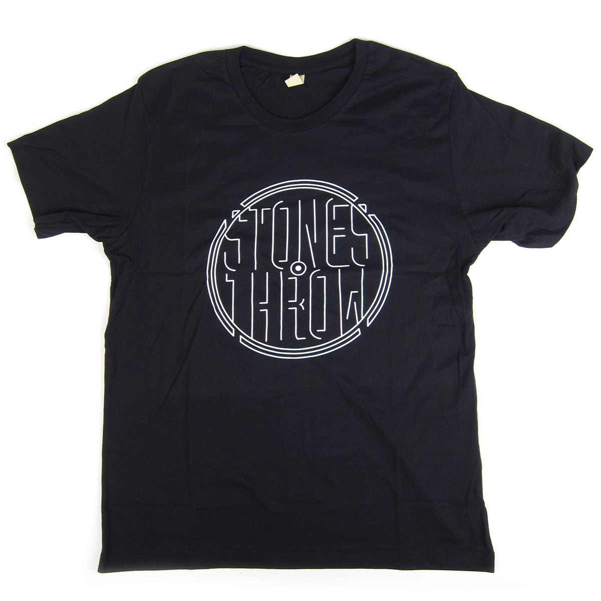 Stones Throw: Stencil Shirt - Black
