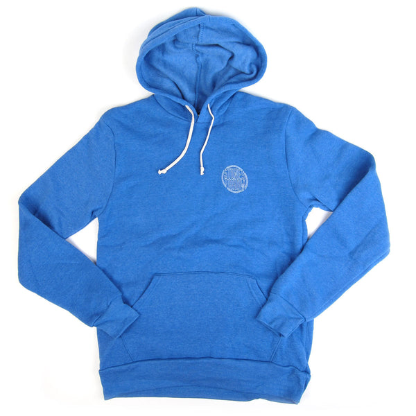 Stones Throw: 2015 Hoodie - Blue