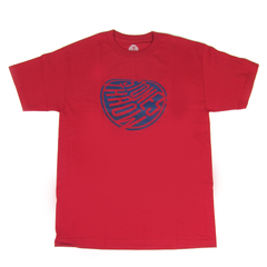Stones Throw: Melted Logo Shirt - Red