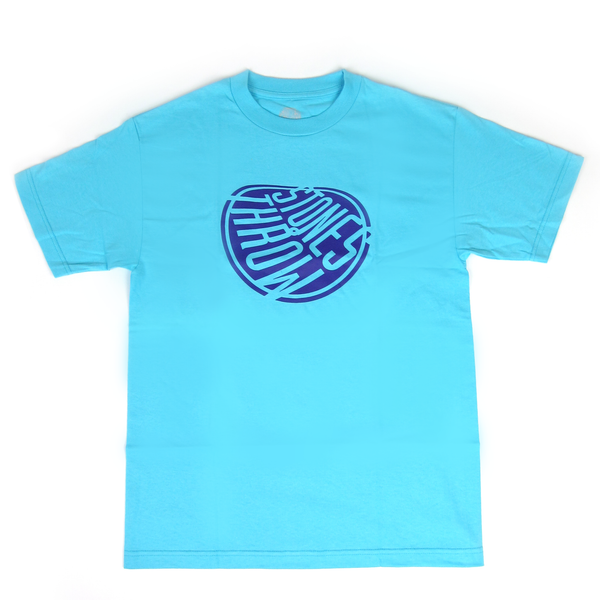 Stones Throw: Melted Logo Shirt - Blue