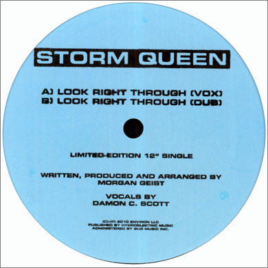 Storm Queen: Look Right Through (Morgan Geist) 12""