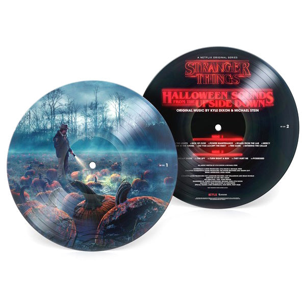 Kyle Dixon & Michael Stein: Stranger Things Halloween Sounds Of The Upside Down (Pic Disc) Vinyl LP (Record Store Day)