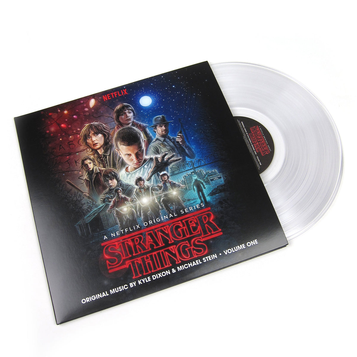Kyle Dixon & Michael Stein: Stranger Things Vol.1 (Clear Colored Vinyl) Vinyl 2LP