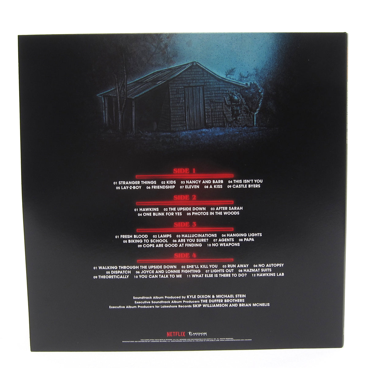 Kyle Dixon & Michael Stein: Stranger Things Vol.1 (Upside Down Blue Colored Vinyl) Vinyl 2LP