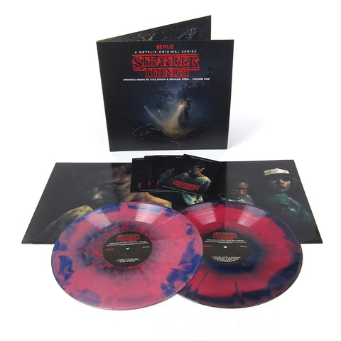Kyle Dixon & Michael Stein: Stranger Things Vol.1 Deluxe Edition (180g, Colored Vinyl) Vinyl 2LP