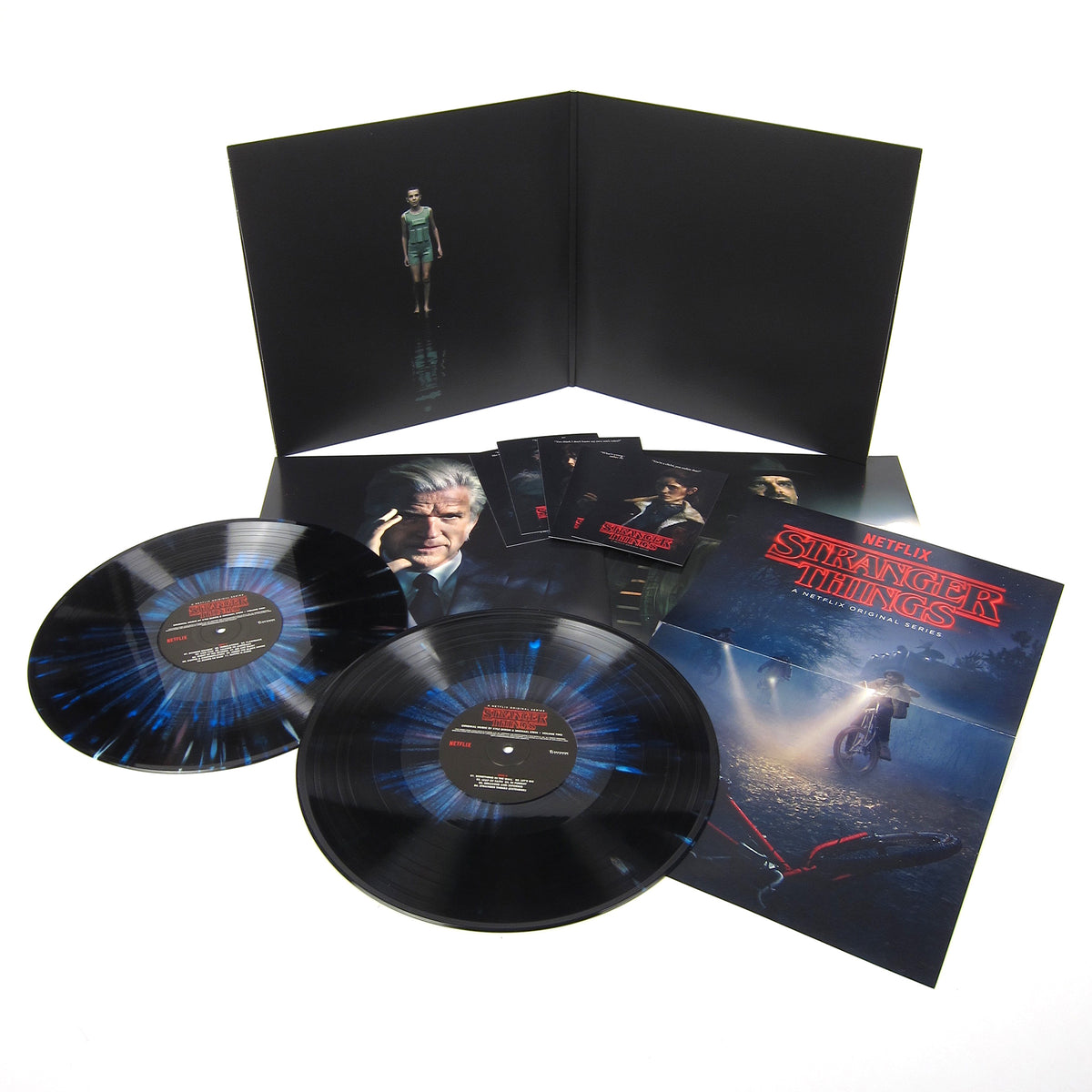 Kyle Dixon & Michael Stein: Stranger Things Vol.2 Deluxe Edition (180g, Colored Vinyl) Vinyl 2LP