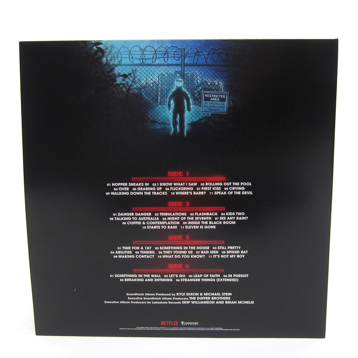 Kyle Dixon & Michael Stein: Stranger Things Vol.2 (Upside Down Blue Colored Vinyl) Vinyl 2LP