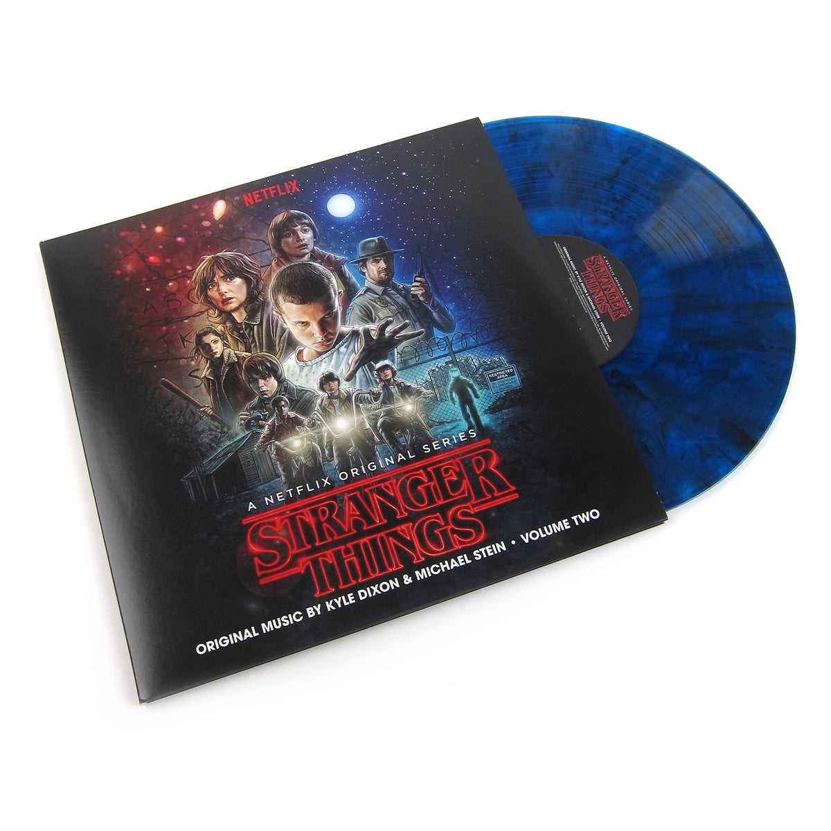 Kyle Dixon & Michael Stein: Stranger Things Vinyl LP Album Pack (Vol.1, Vol.2, Upside Down Blue Colored Vinyl)