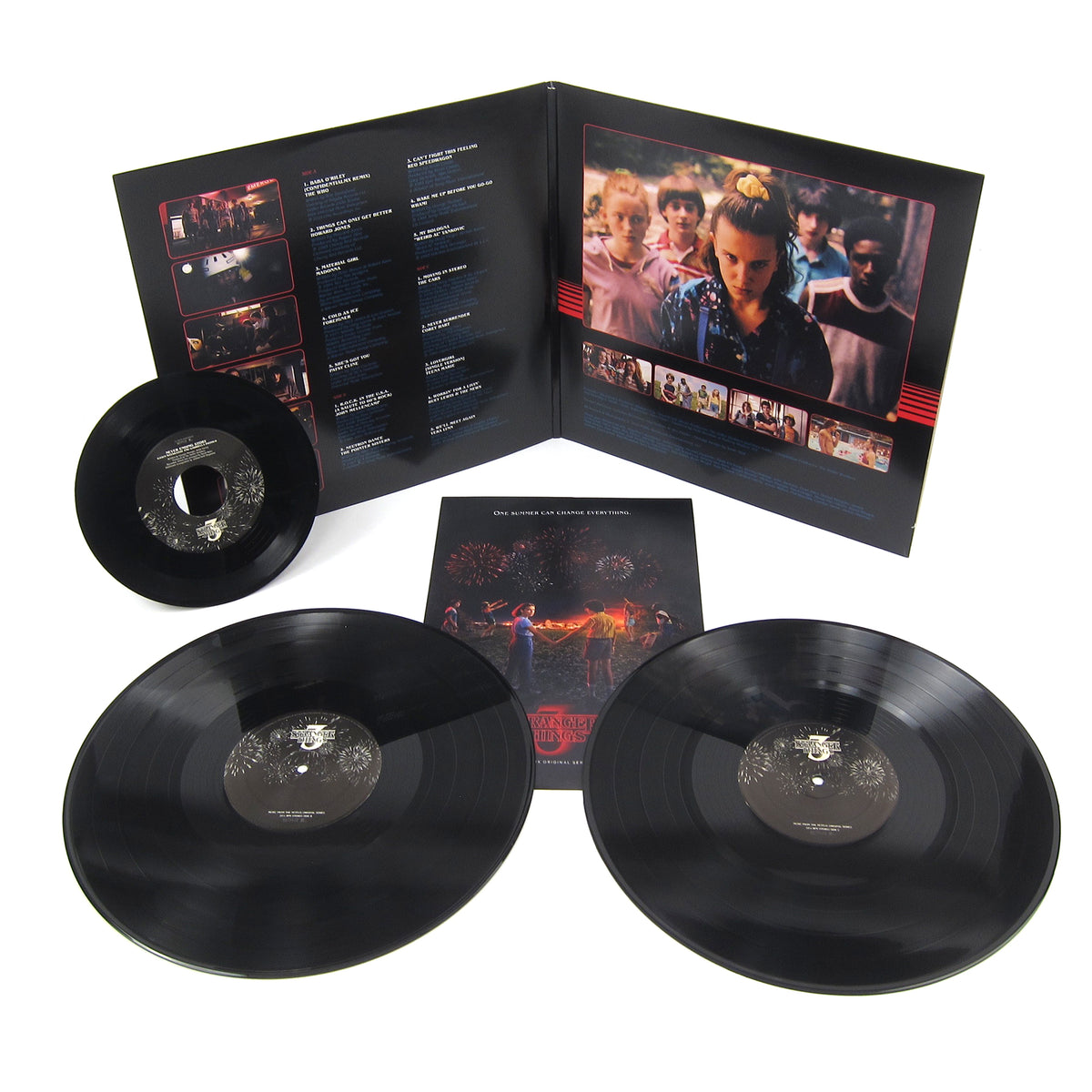 Stranger Things: Soundtrack from the Netflix Original Series, Season 3 Vinyl 2LP+7""