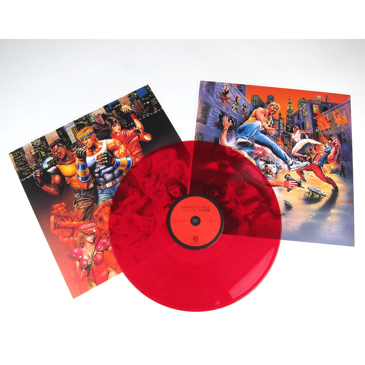 Yuzo Koshiro: Streets Of Rage Original Soundtrack (Colored Vinyl, 180g) Vinyl LP