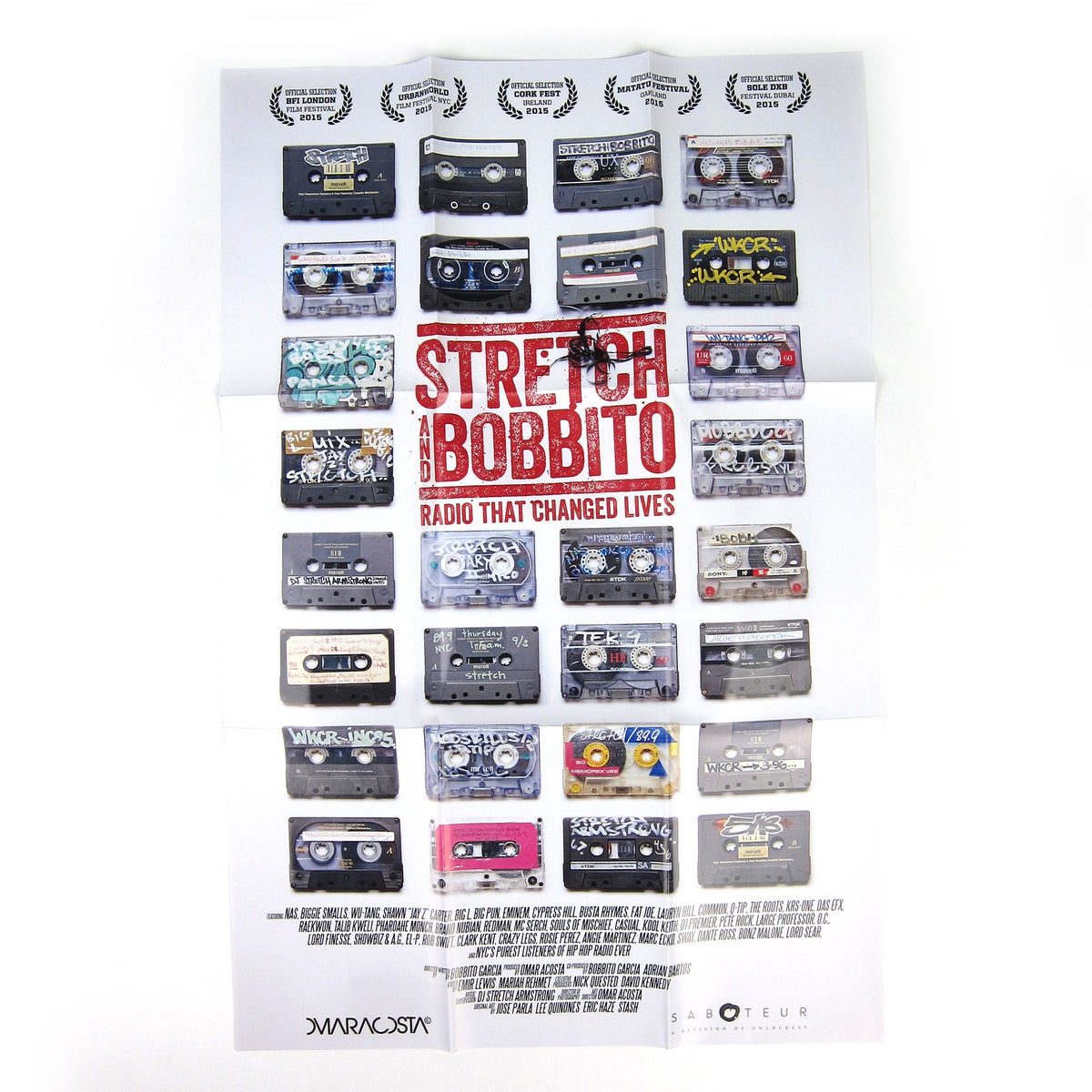 Stretch And Bobbito: Radio That Changed Lives DVD+3 Cassette Boxset