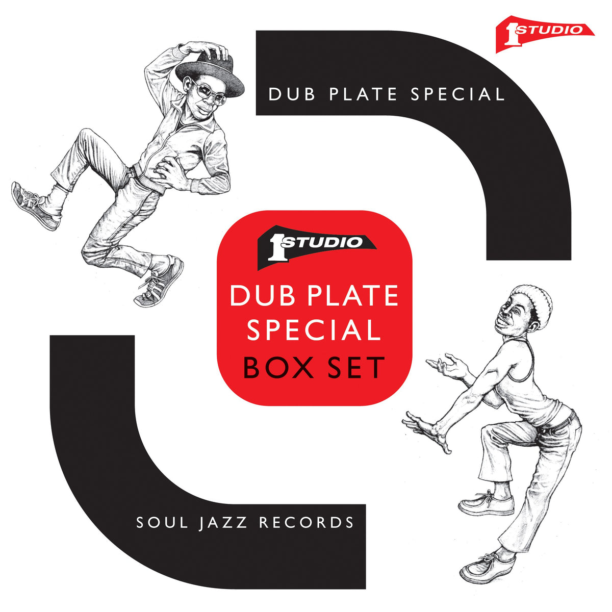 "Soul Jazz Records: Studio One Dub Plate Special Vinyl 5x7"" Boxset (Record Store Day)"