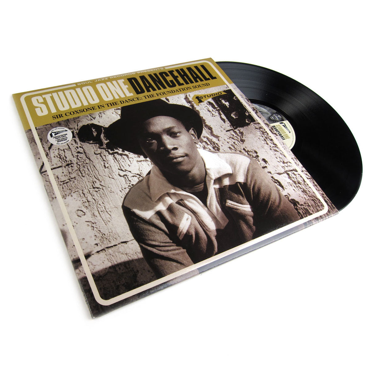 Soul Jazz: Studio One Dancehall - Sir Coxsone In The Dance The Foundation Sound (Limited Edition, Free MP3) Vinyl 3LP