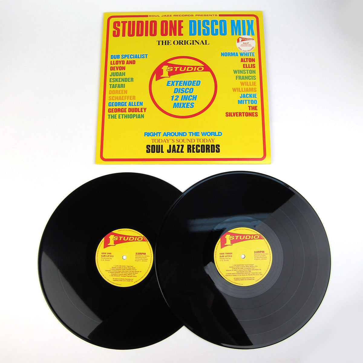 Soul Jazz Records: Studio One Disco Mix Vinyl 2LP