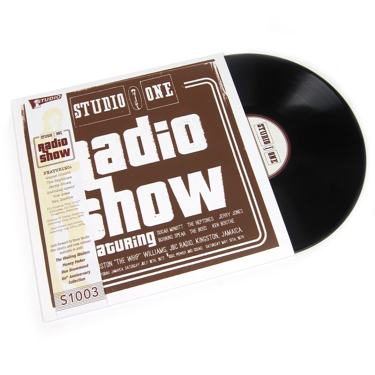 Studio One: Radio Show (Screenprinted Cover) Vinyl LP