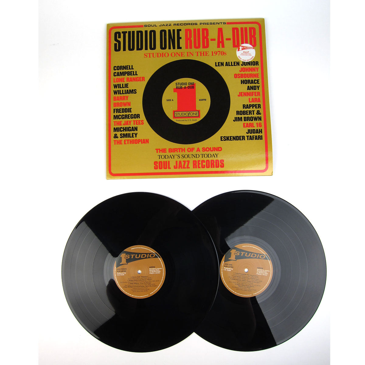 Soul Jazz Records: Studio One Rub-A-Dub Vinyl 2LP