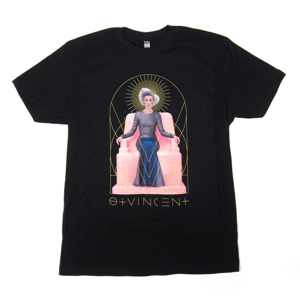 St. Vincent: Album Cover Shirt - Black