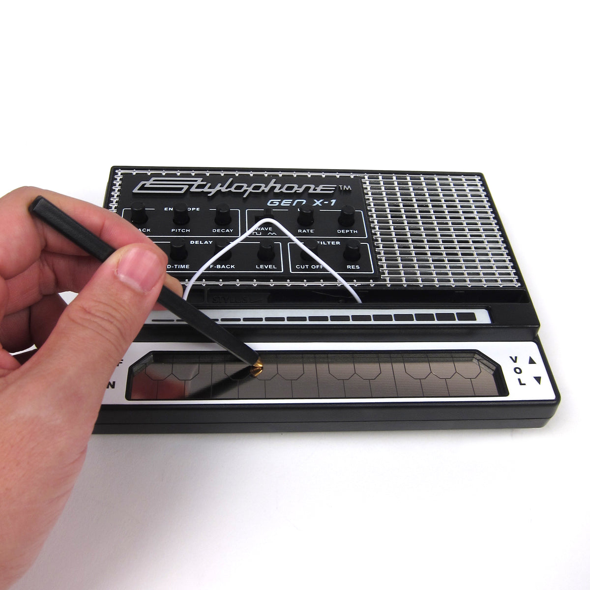 Stylophone Gen X-1 portable synthesizer