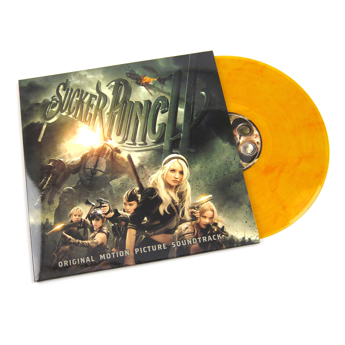 Sucker Punch: Sucker Punch Soundtrack (Music On Vinyl, 180g, Amber Marbled Colored Vinyl) Vinyl LP