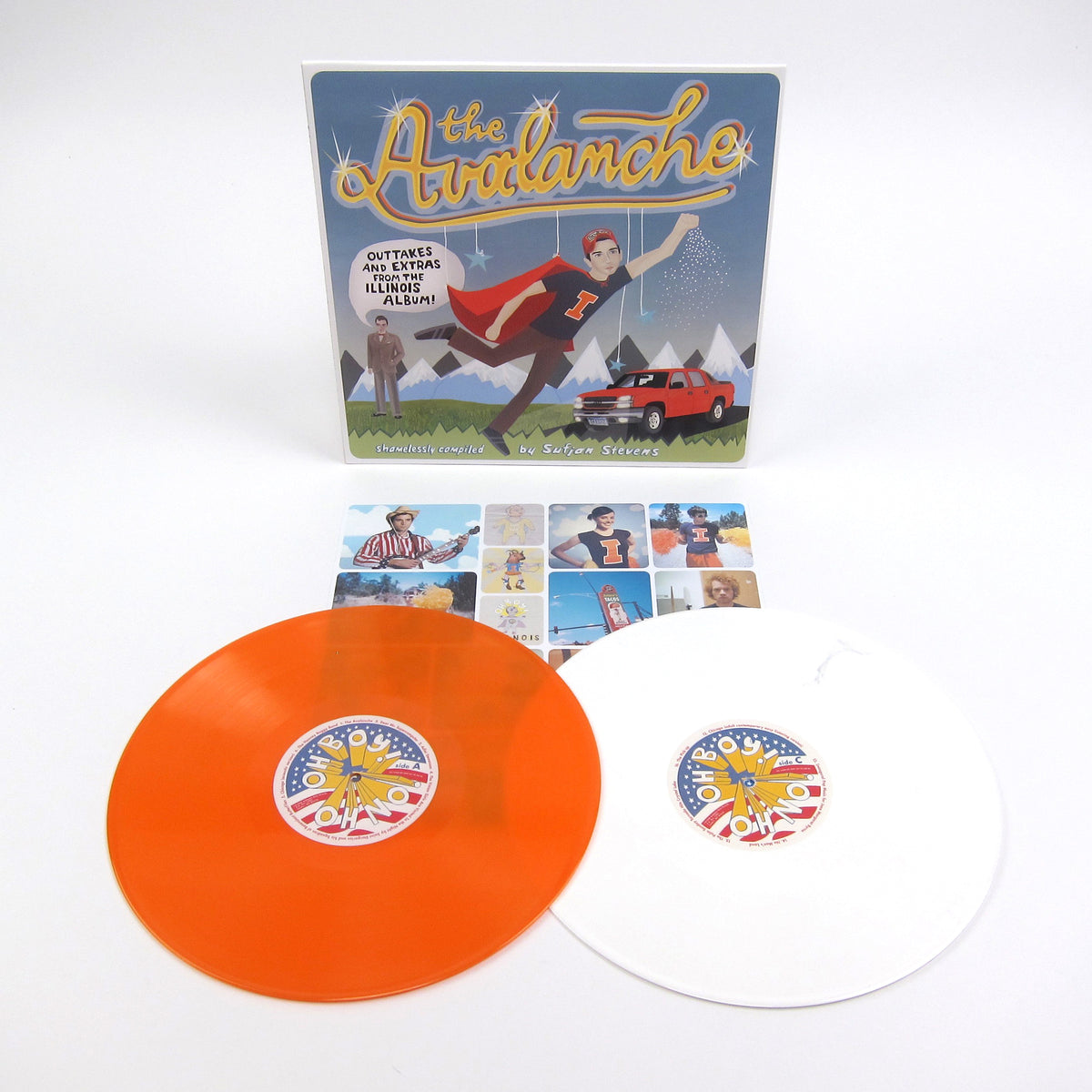 Sufjan Stevens: The Avalanche (Colored Vinyl) Vinyl 2LP
