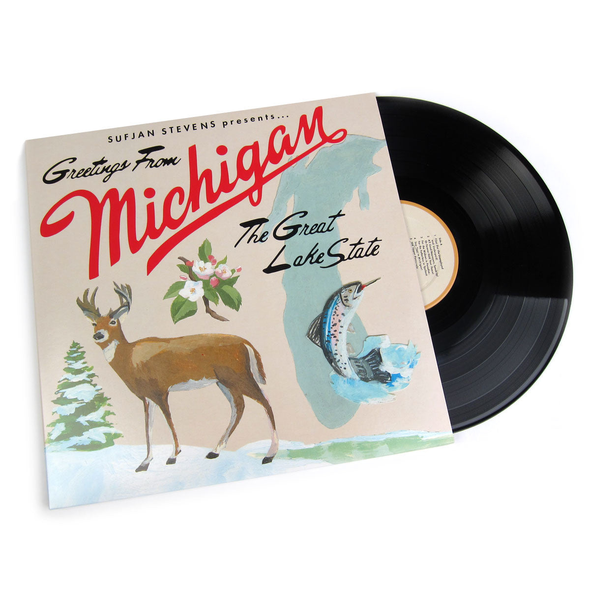 Sufjan Stevens: Michigan Vinyl 2LP