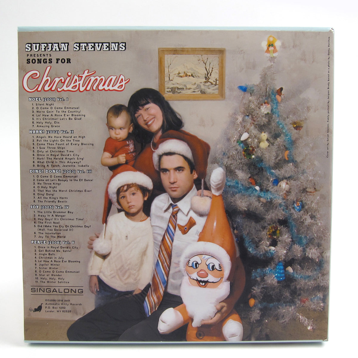 Sufjan Stevens: Songs For Christmas Vinyl 5LP Boxset