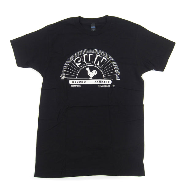 Sun Records: Logo Shirt - Black