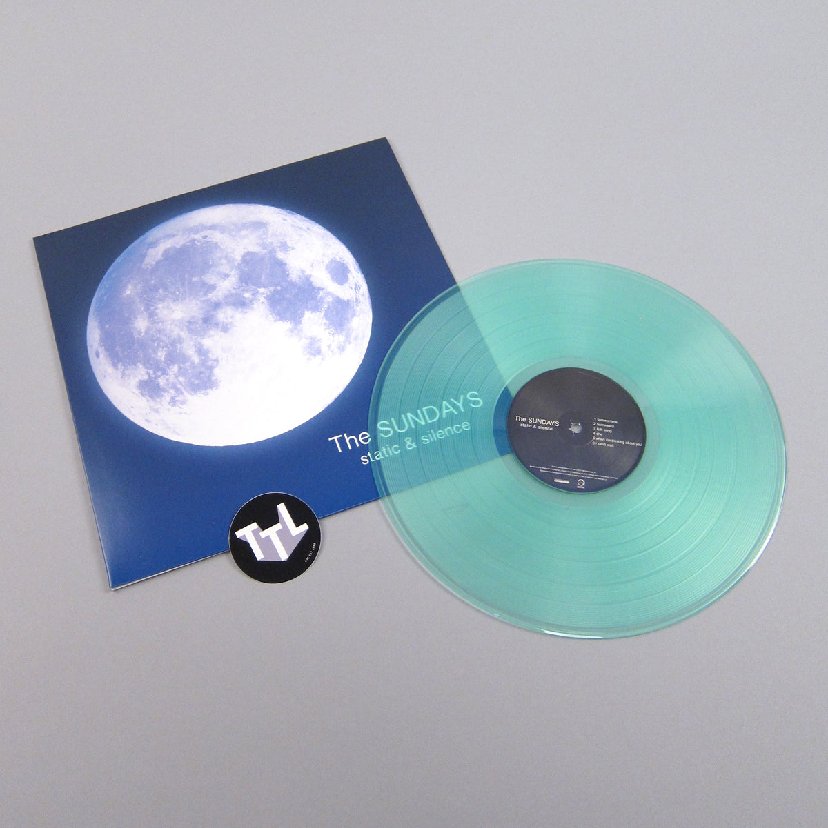 The Sundays: Static & Silence (Sea Glass Colored Vinyl) Vinyl LP - Turntable Lab Exclusive
