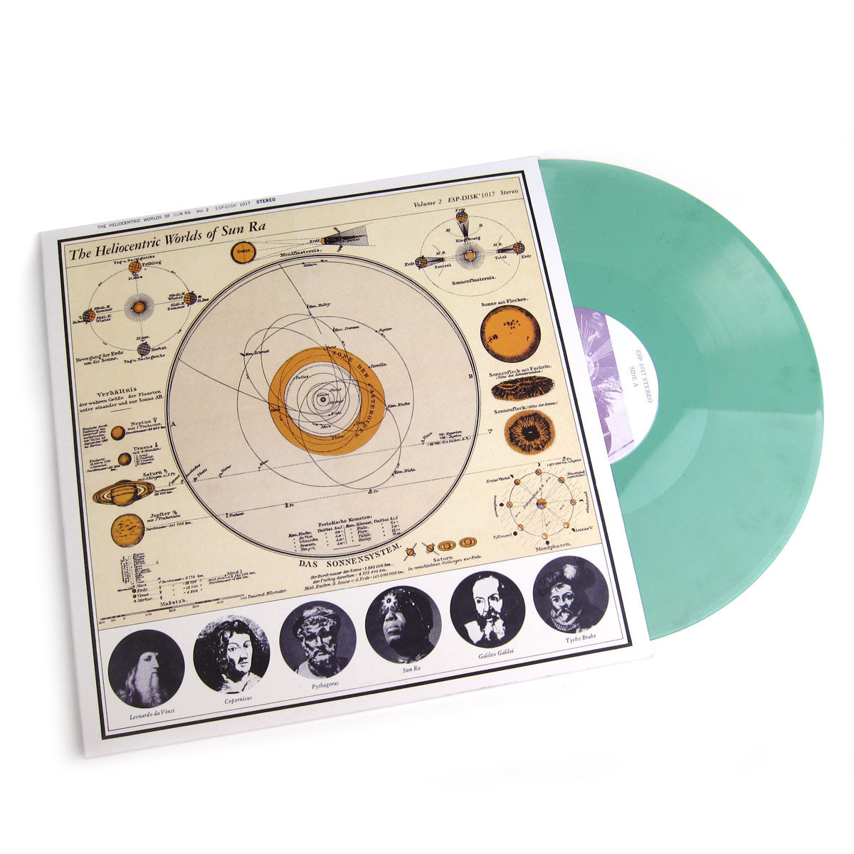 Sun Ra: The Heliocentric Worlds Of Sun Ra Vol.2 (Colored Vinyl) Vinyl LP