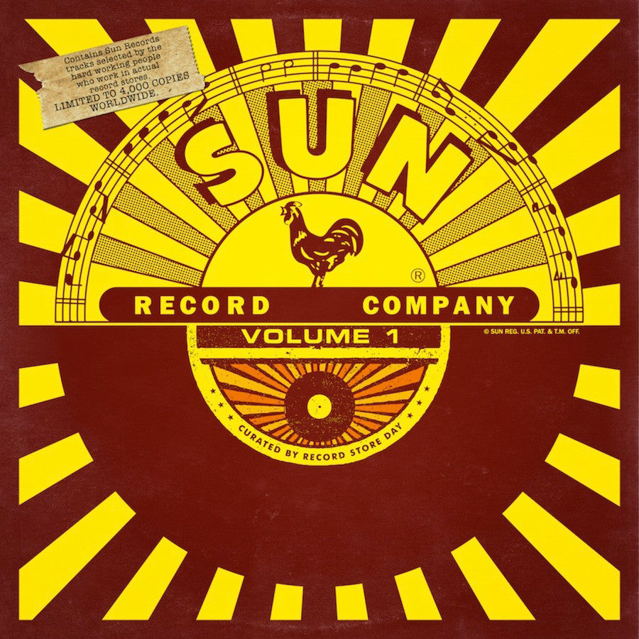 Sun Records: Sun Records Curated By Record Store Day Vol.1 Vinyl LP (Record Store Day 2014)
