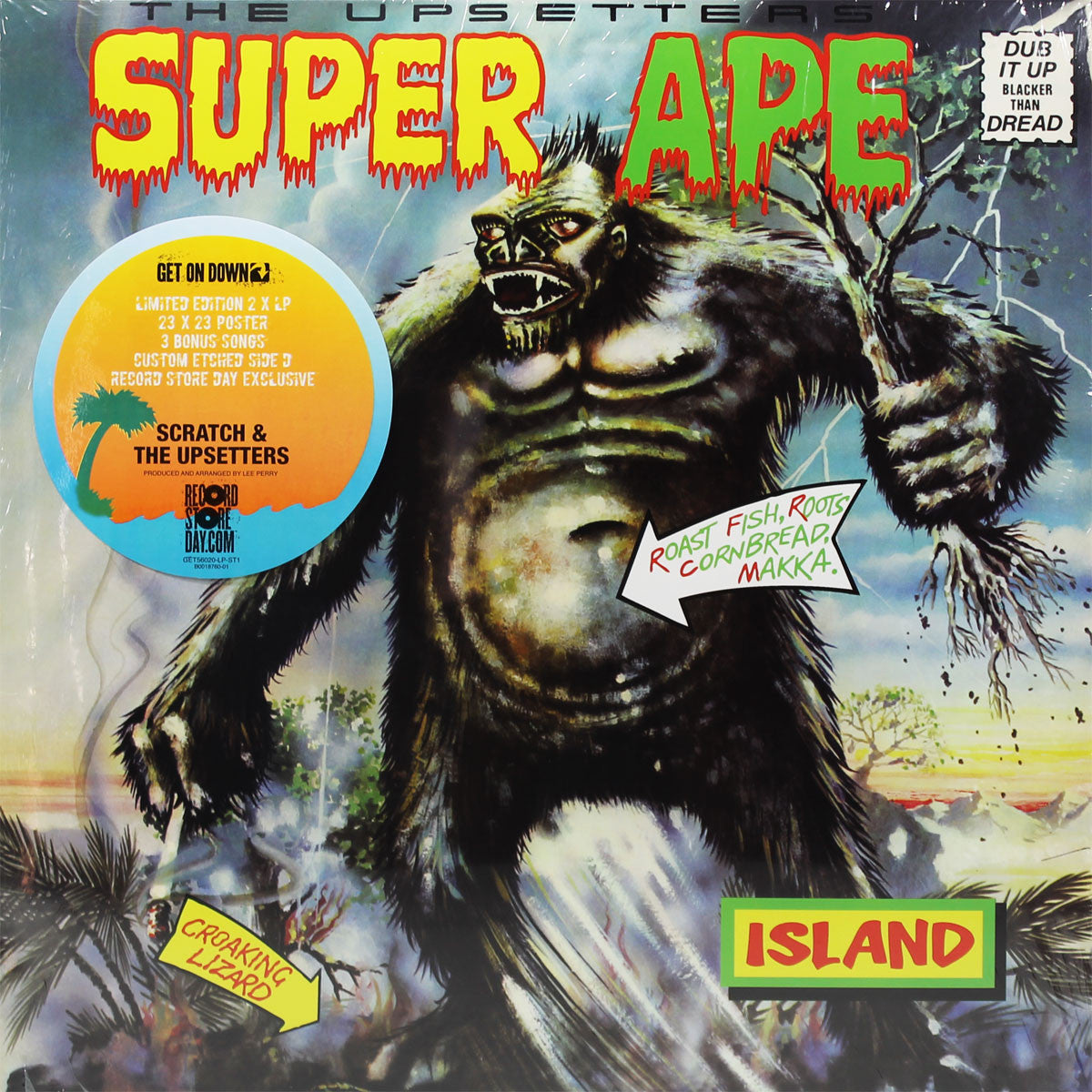 Upsetters: Super Ape - Deluxe Etched Edition 2LP (Record Store Day) cover