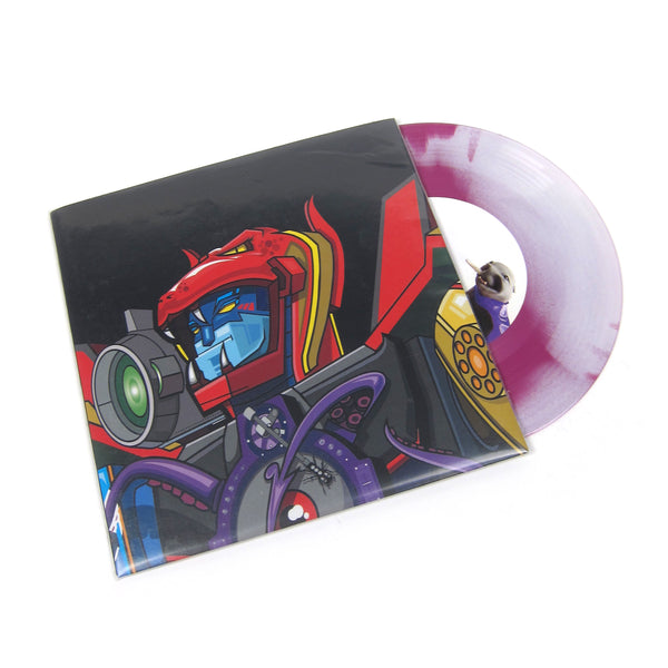QBert: Super Seal Giant Robo V.1 (White/Purple Colored Vinyl) Vinyl 7""