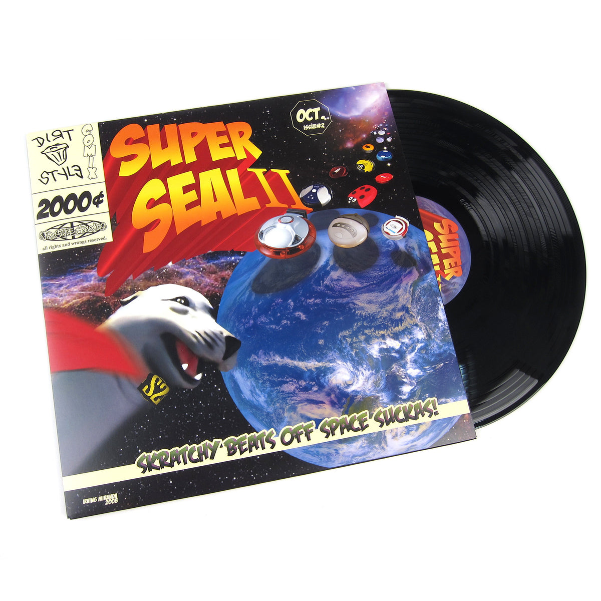 QBert: Super Seal II LP