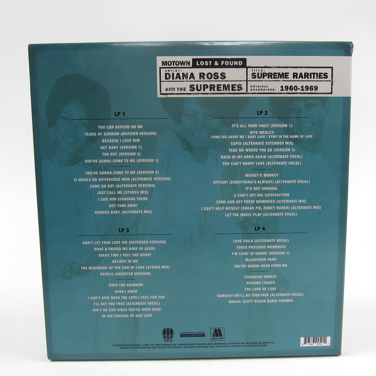 Diana Ross And The Supremes: Supreme Rarities - Motown Lost & Found 1960-1969 Vinyl 4LP Boxset