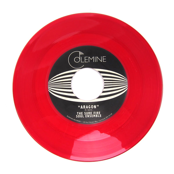 The Sure Fire Soul Ensemble: Aragon / El Nino (Ode To The Poets) (Colored Vinyl) Vinyl 7""