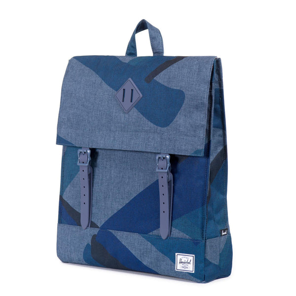 Herschel Supply Co.: Survey Backpack - Navy Portal Rubber