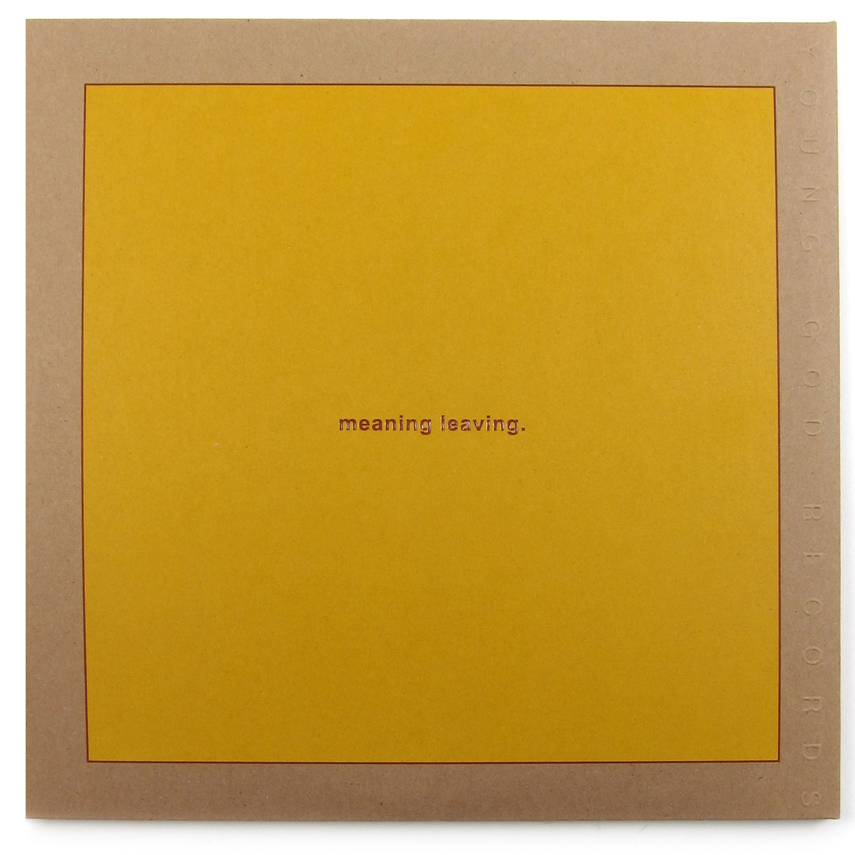 Swans: Leaving Meaning Vinyl 2LP