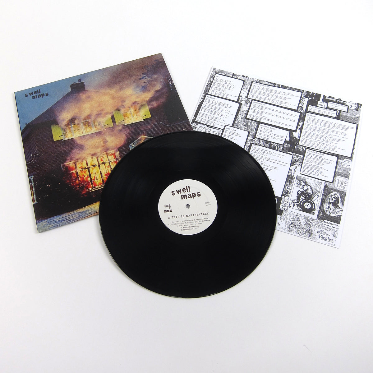 Swell Maps: A Trip To Marineville Vinyl LP+7""